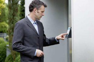 Elektronische Türschloss: Zugang zum Haus per Fingerabdruck