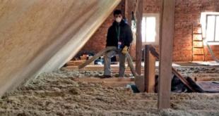 Einblasdaemmung 310x165 - Dachsanierung: Einblasdämmung mit Steinwolle innert Tagesfrist