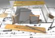 Planung 110x75 - Knapper Wohnraum - Discounter stocken Flachdächer auf