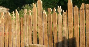 origineller Sichtschutzzaun 310x165 - Sichtschutzzäune – Schutz vor neugierigen Blicken